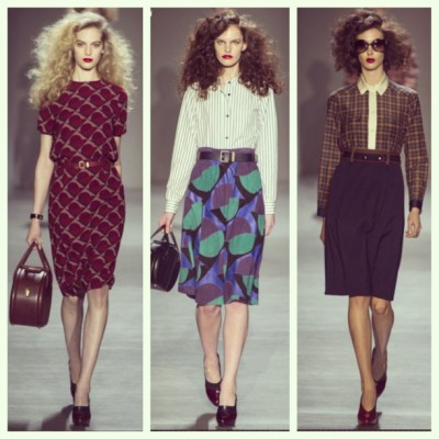 fashionweek marc jacobs 400x400 FW New York 2013 14 : bilan en images Instagram