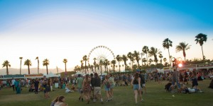 General atmosphere at the 2014 Coachella Music and Arts Festival on Sunday, April 13, 2014, in Indio, Calif. (Photo by Scott Roth/Invision/AP)