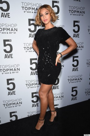 NEW YORK, NY - NOVEMBER 04:  Beyoncé Knowles attends the Topshop Topman New York City flagship opening dinner at Grand Central Terminal on November 4, 2014 in New York City.  (Photo by Dimitrios Kambouris/Getty Images)