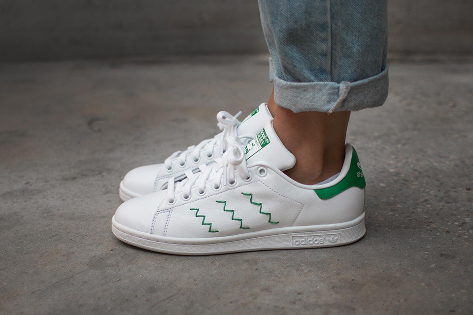 Adidas Stan Smith Zigzag Noir