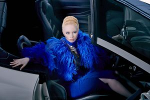 Thando Hopa in Gert-Johan Coetzee AW2016 Photograph by Nick Boulton Hair&Makeup by Lyn Kennedy