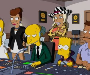 """THE SIMPSONS: In the first-ever one-hour episode of THE SIMPSONS, featuring Emmy Award nominee Taraji P. Henson (EMPIRE), Snoop Dogg, Common and RZA as guest voices, Mr. Burns tries to relive his glory days, and crosses paths with a mysterious music mogul. After being conned by him and reduced to bankruptcy, Burns seeks revenge on the music producer with the help of Homer, Bart, rapper Jazzy James (guest voice Keegan-Michael Key) and the mogul's ex-wife, Praline (guest voice Taraji P. Henson), along with Snoop Dogg, Common and RZA (guest-voicing as themselves) in the all-new """"The Great Phatsby,"""" special one-hour episode of THE SIMPSONS airing Sunday, Jan. 15 (8:00-9:00 PM ET/PT) on FOX.  THE SIMPSONS ™ and © 2016 TCFFC ALL RIGHTS RESERVED. THE SIMPSONS ™ and © 2016 TCFFC ALL RIGHTS RESERVED. CR: FOX."""