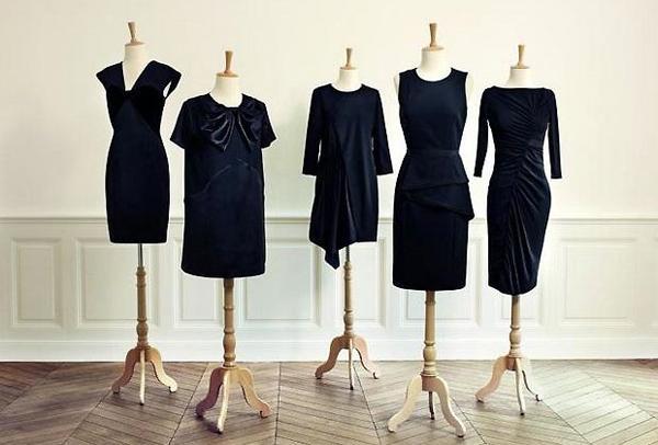 monoprix-robe-noire-couture