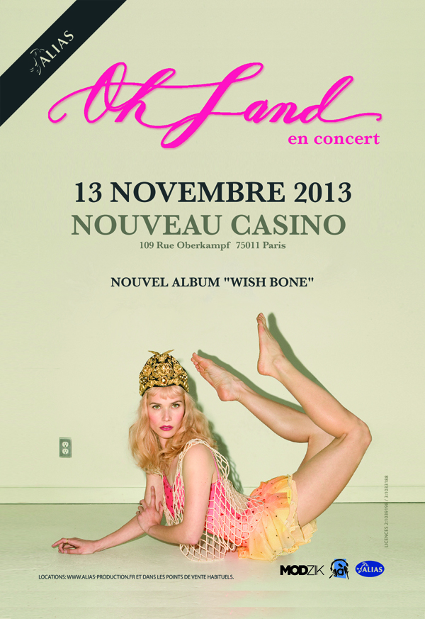 Oh land Paris show artwork (1)
