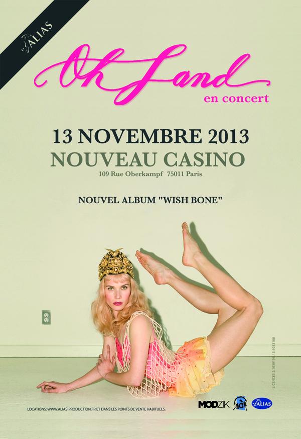 Oh land Paris show artwork (1)