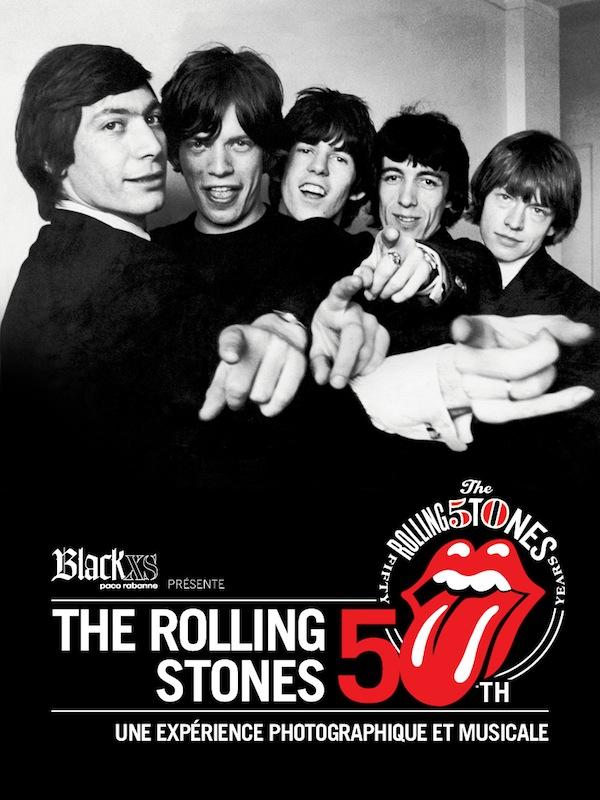 Exposition Stones 50 par Black XS_Affiche