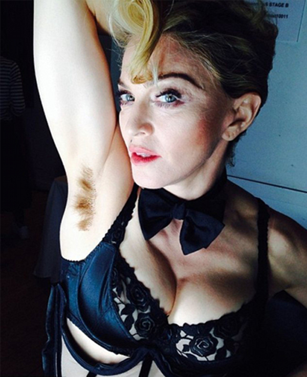 Madonna-Instagram-Poilue