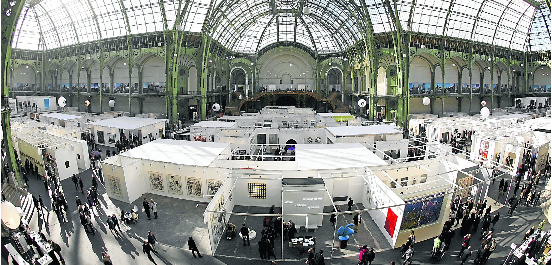 Fiac, Foire internationale d'art contemporain, au Grand Palais