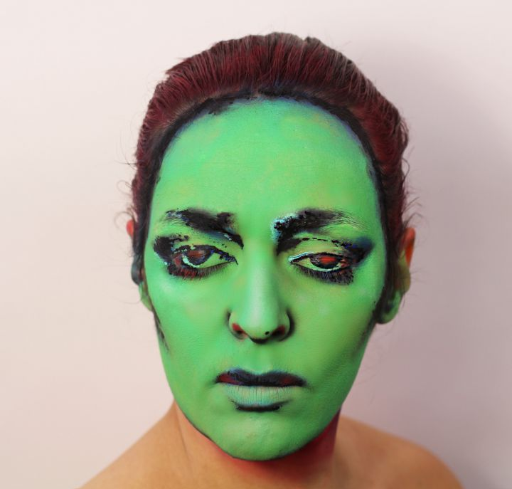 Peinture-Visage-album-Annette-Peacock-720x687