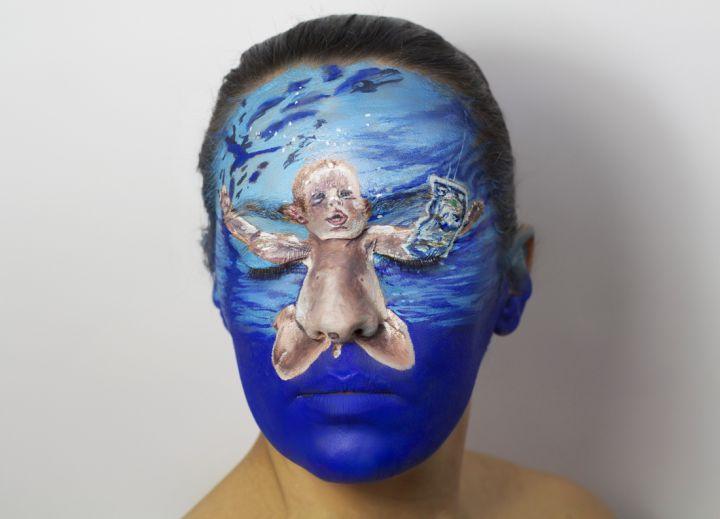Peinture-visage-album-Nirvana-720x519