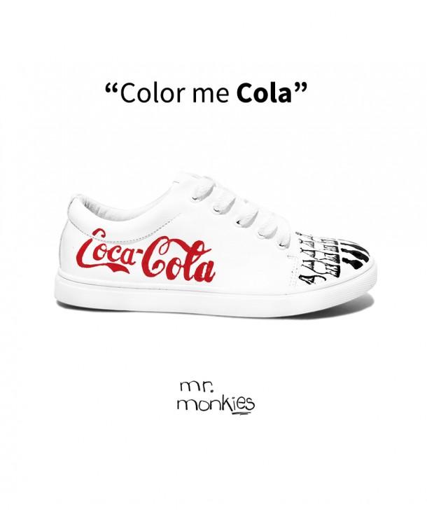 Color me cola shoes