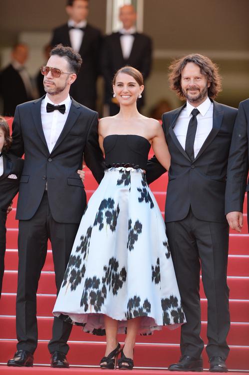 Natalie Portman en robe C Dior haute couture P E 15