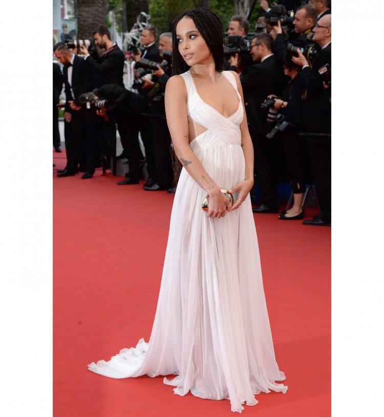 zoe-kravitz-robe-Valentino haute couture