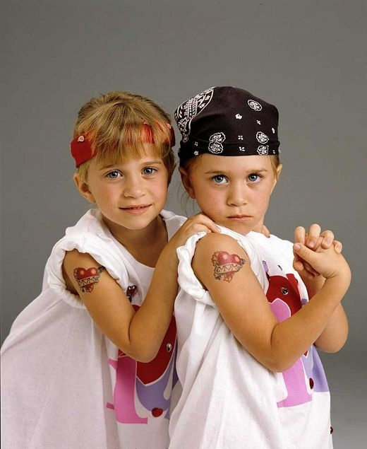 1993-The-1993-Full-House-promo-shots-got-a-bit-edgy-with-tattoos.-