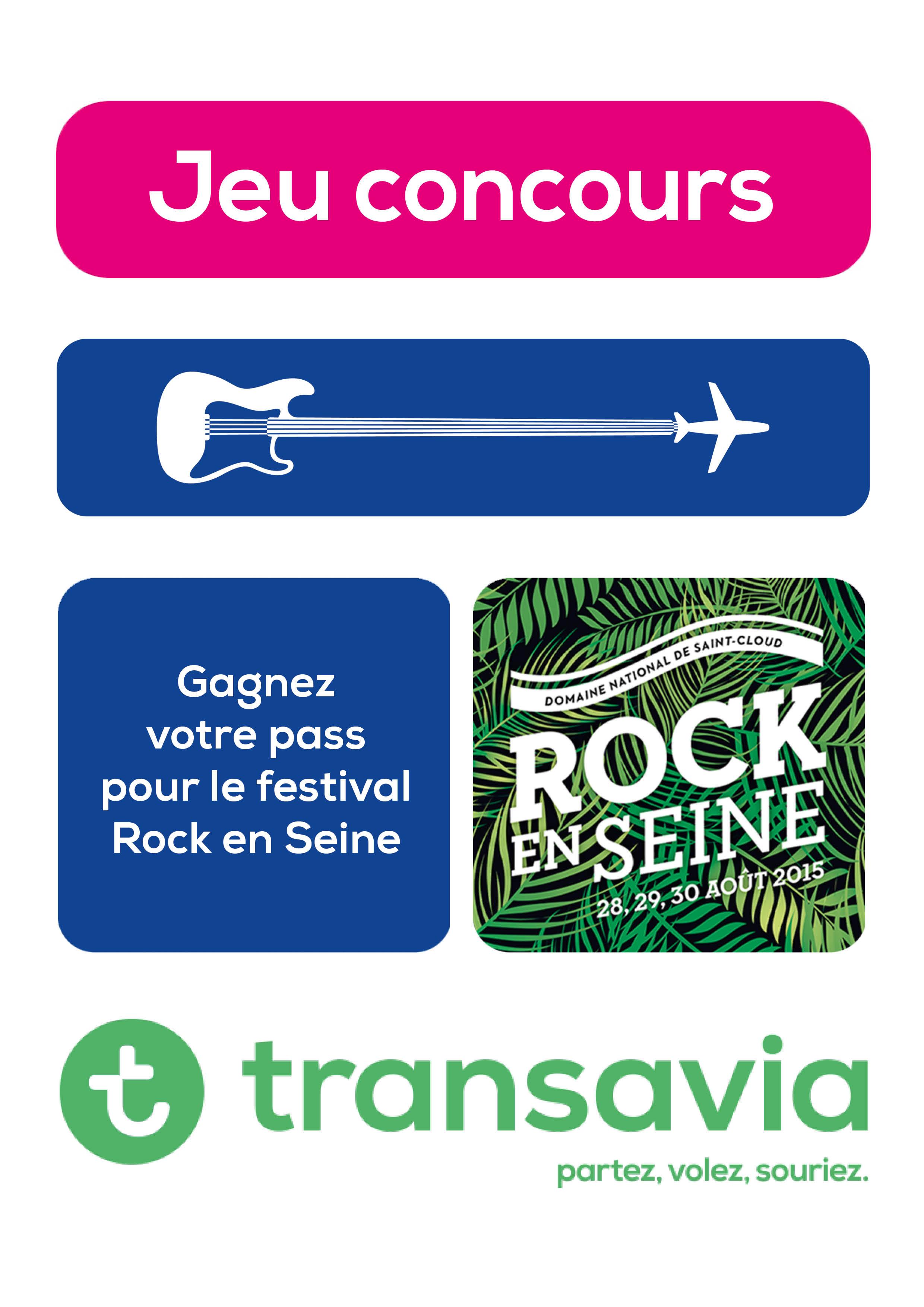 Transavia Rock En Seine