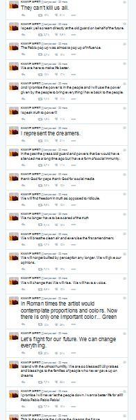 Tweets Kanye West