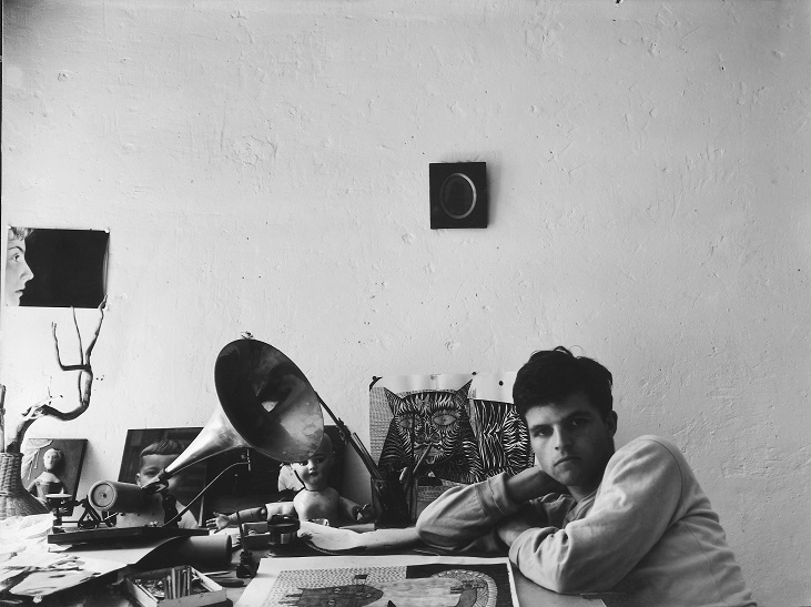 Self-Portrait in the artist's studio, c.1953-7