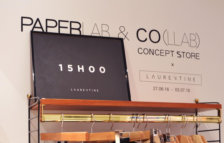 Collaboration Paperlab Laurentine Modzik BHV MARAIS