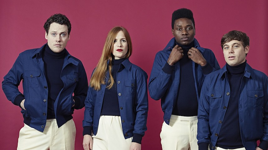 Metronomy, from left, Joseph Mount, Anna Prior, Gbenga Adelekan and Oscar Cash