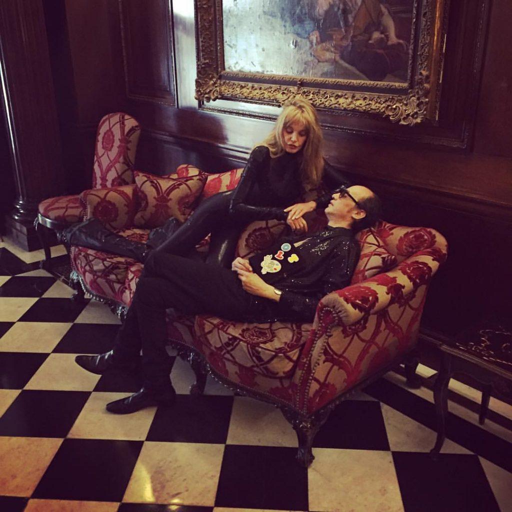 ARIELLE DOMBASLE & NICOLAS KER par Alex Brunet @ Hotel Raphael, Paris