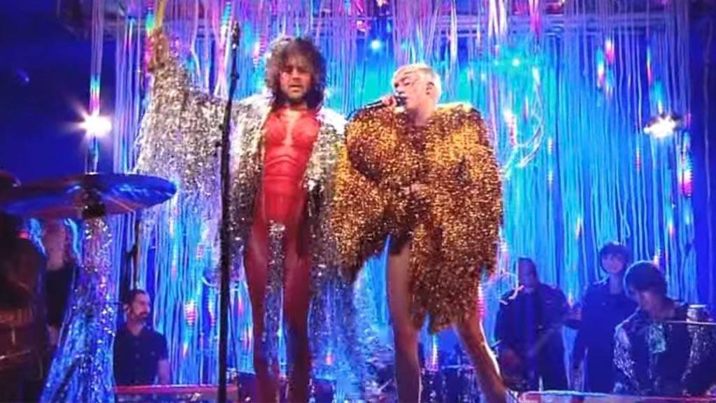 Miley and Wayne