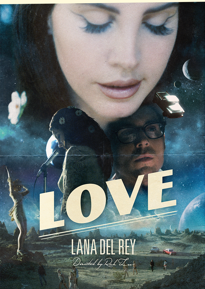 MODZIK_LANA DEL REY LOVE POSTER 2