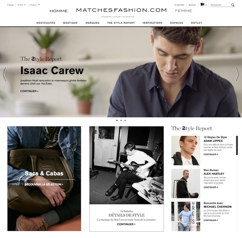 Mens Homepage France