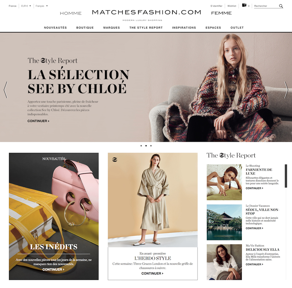 Womens Homepage France