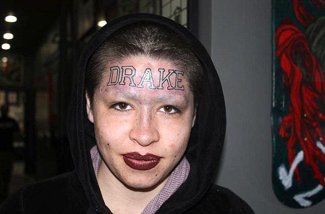 Drake Tatouage