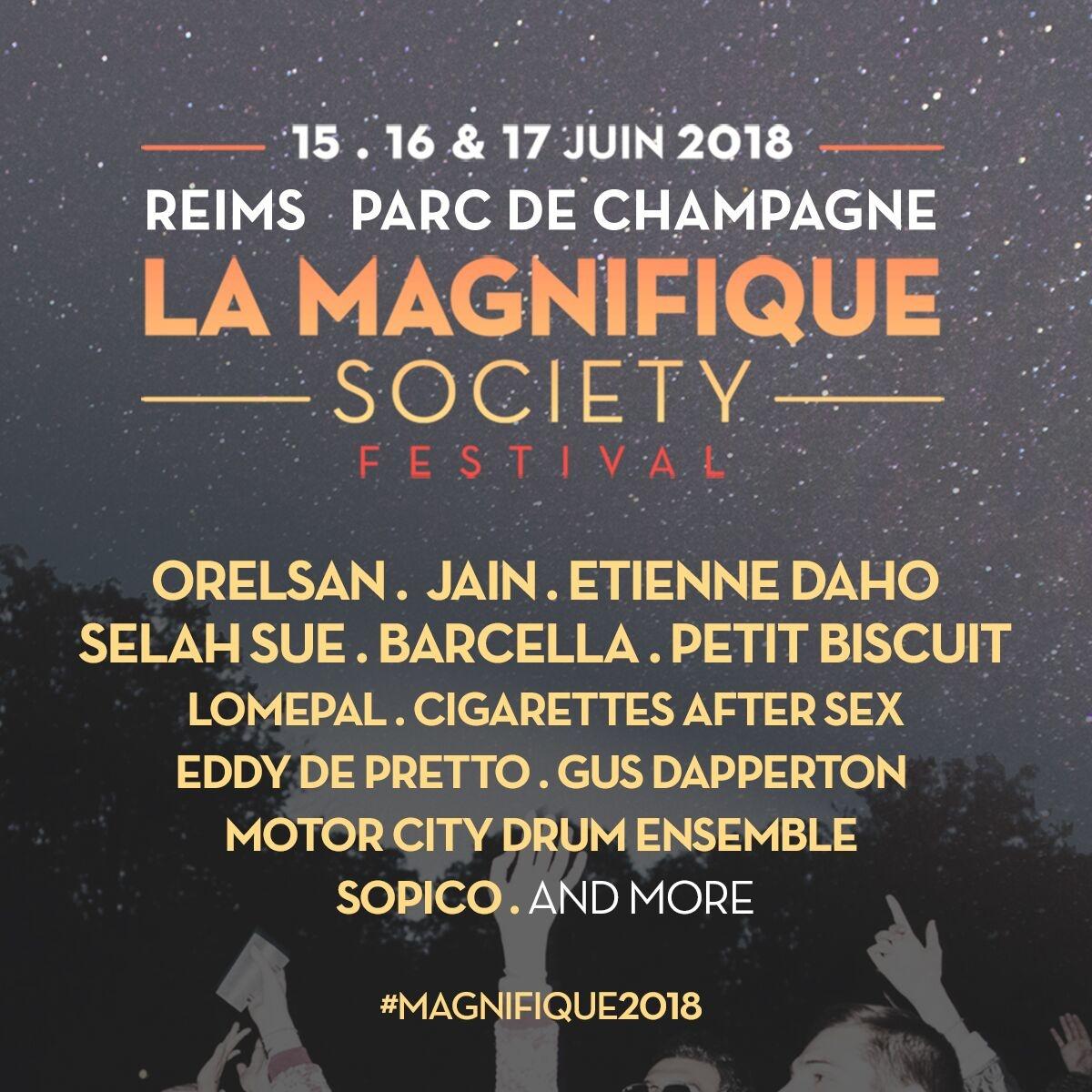 la magnifique society line-up modzik