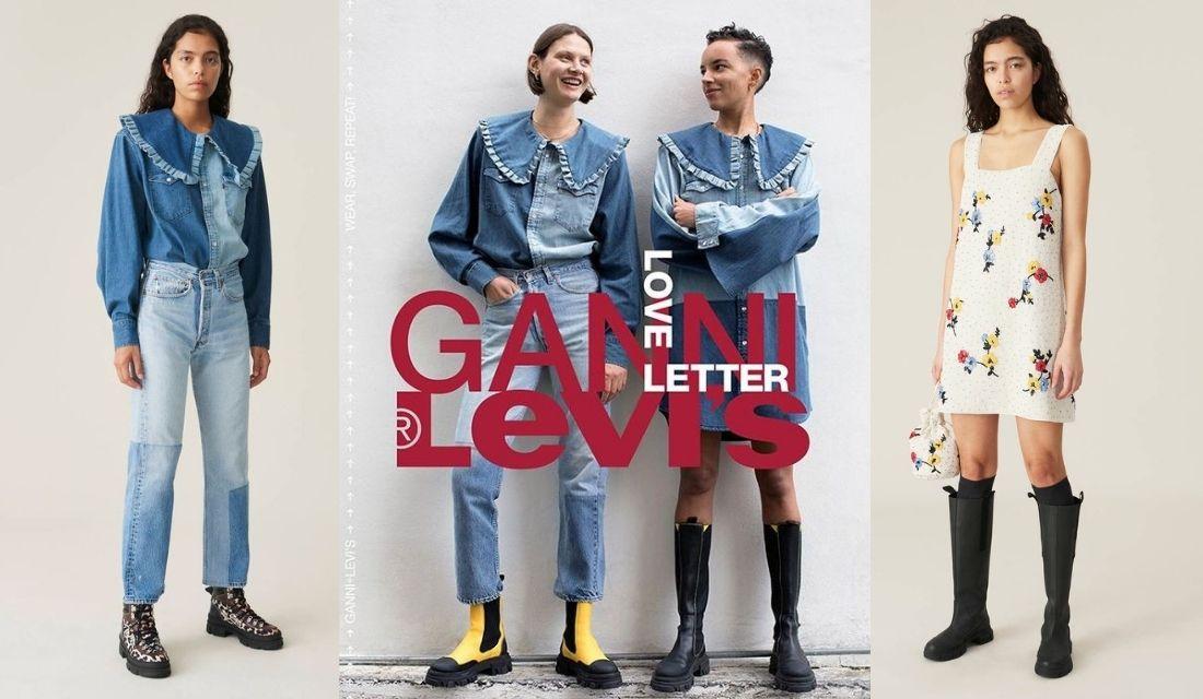 collab Levi's Ganni