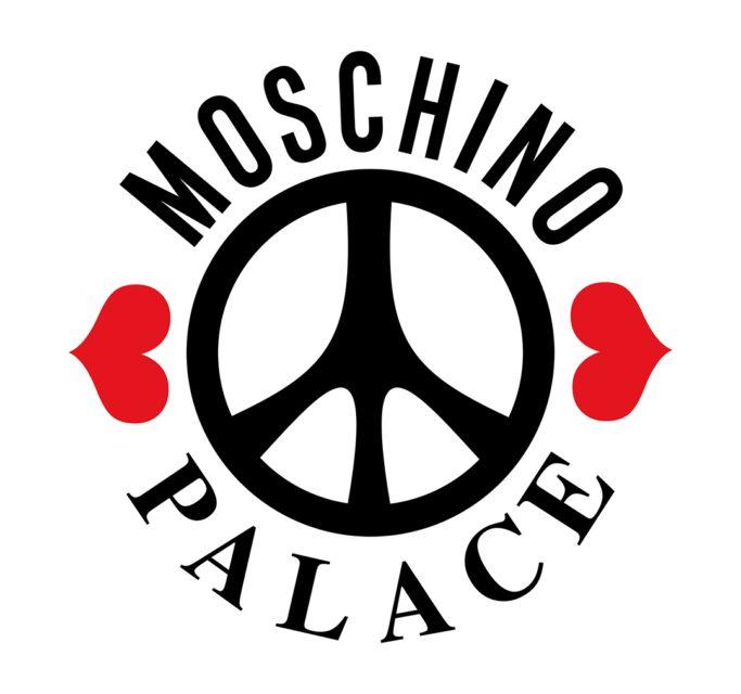 palace moschino logo