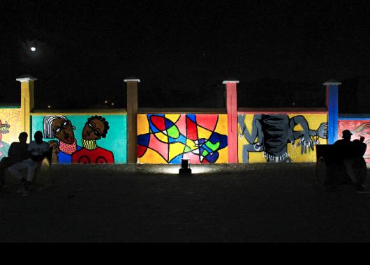 Abidjan graffiti