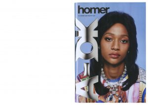 Frank Ocean magazine Homer marque de luxe page 1