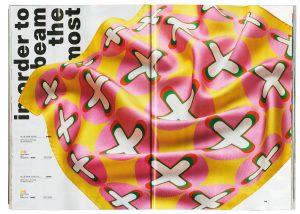 Frank Ocean magazine Homer marque de luxe foulards murakami